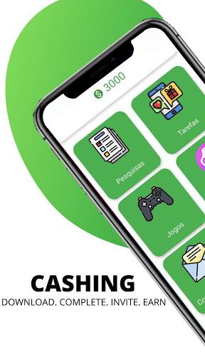 Cashing - Earn money, Diamonds and more  screenshots 1