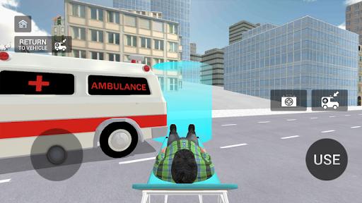 Ambulance Simulator - Car Driving Doctor screenshots 5