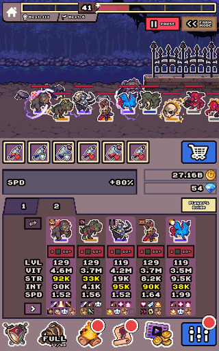 Idle Monster Frontier - team rpg collecting game 1.8.7 screenshots 14