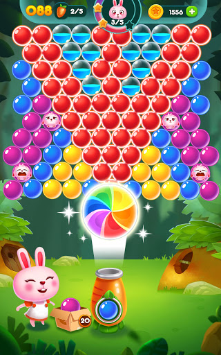 Bubble Bunny: Animal Forest Shooter apkpoly screenshots 10