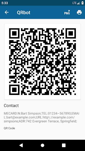 QRbot: QR & barcode reader android2mod screenshots 4