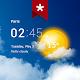Transparent Clock & Wetter (Ad-free) für PC Windows