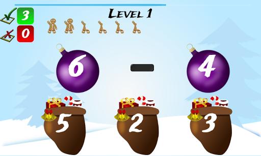 Christmas Games Math Santa 2.2 screenshots 3