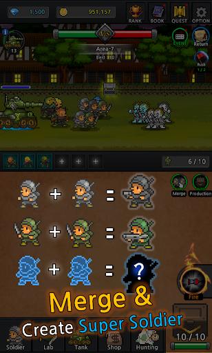 Grow Soldier - Idle Merge game 3.7.0 screenshots 16