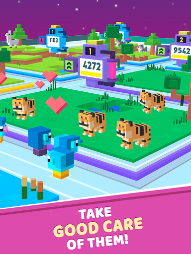 Idle Star Zoo: Universe Animals Merge Tycoon  screenshots 3