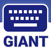 GIANT Text Keyboard