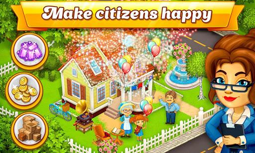 cartoon city: farm to village. build your home screenshot 2