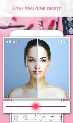 Pretty Makeup - Beauty Photo Editor Selfie Camera screenshots 1