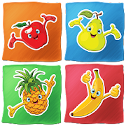 Fruits Memory Game for kids