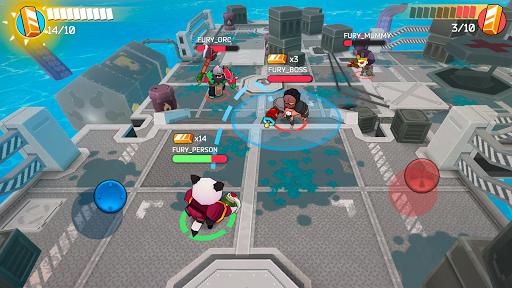Fury Wars - online shooting game, third person.  screenshots 5
