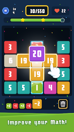 Merge Plus - Merge Number Puzzle  screenshots 14