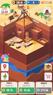 Idle Digging Tycoon MOD (Unlimited Money) 2