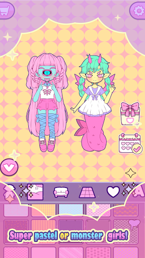 Mimistar: Dress Up chibi Pastel Doll avatar maker apkdebit screenshots 14