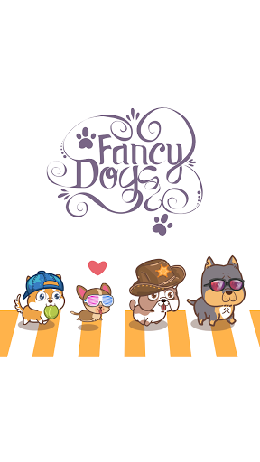 Fancy Dogs - Cute dogs dress up and match 3 puzzle Apkfinish screenshots 1