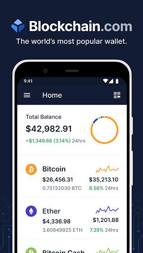 Blockchain.com Wallet - Buy Bitcoin, ETH, & Crypto android2mod screenshots 1