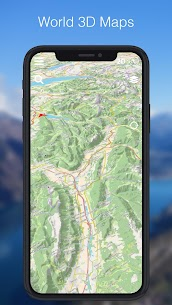 Relief Maps – 3D GPS Hiking | Trail Running | Ski 3