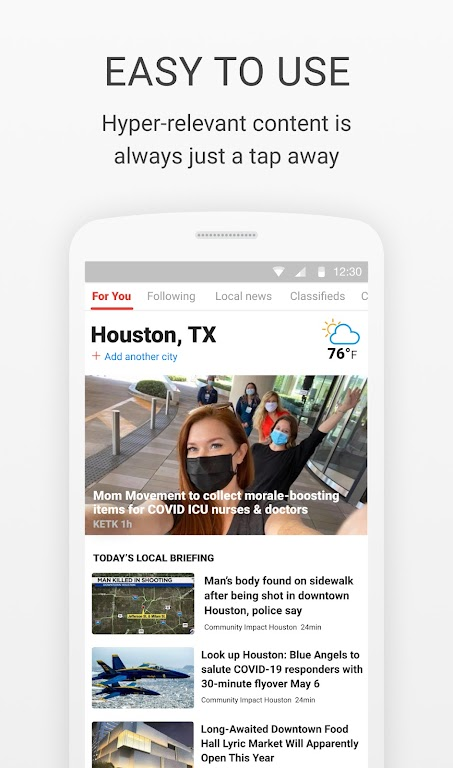 News Break: Local Breaking Stories & US Headlines  poster 3