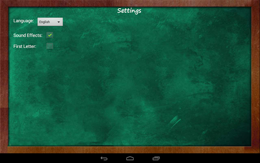 Educational Hangman in English 2.67 screenshots 12