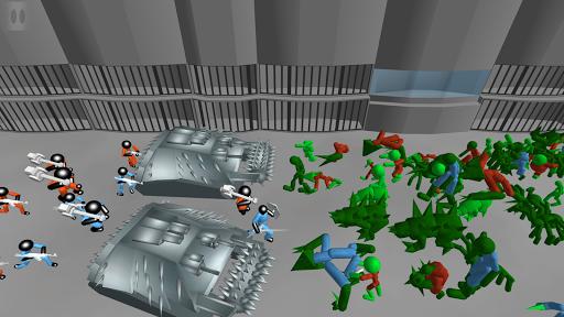 Stickman Prison Battle Simulator: Zombies screenshots 9