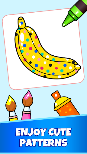 Fruits Coloring Pages - Game for Preschool Kids 1.0 screenshots 5