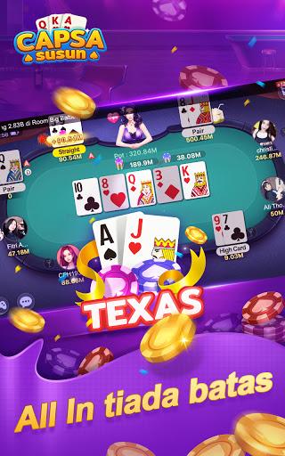 Capsa Susun Online:Domino Gaple Poker Free  screenshots 4