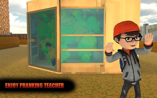 Evil Scary Teacher Creepy Game: Horror House 3D screenshots 2
