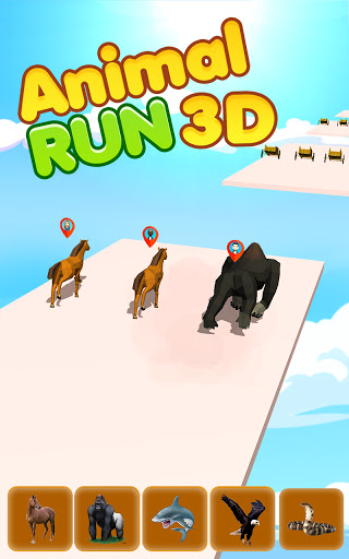 Epic Animal Dash Run 3D: Hop and Smash  screenshots 1