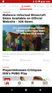 IGN Entertainment – Video Game Guides Reviews News Apk Download 2021 5