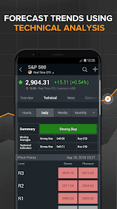 Download investing com App for android, iphone 2