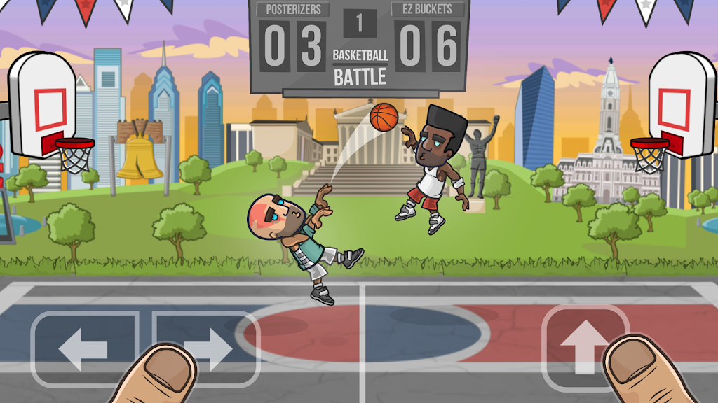 Basketball Battle poster 0