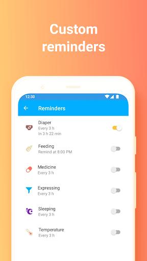 Baby Tracker. Breastfeeding Tracker. Newborn apktram screenshots 5