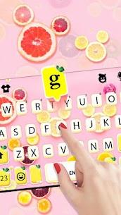 Fruity Messenger Keyboard Theme 2
