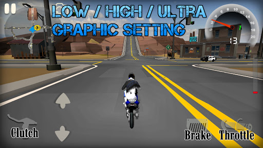 Wheelie King 4 - Online Wheelie Challenge 3D Game 1 screenshots 10