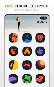 ONE UI DARK Icon Pack : S10 v3.1 [Patched] 5