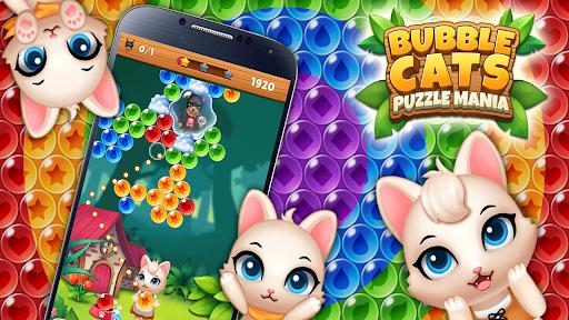 Bubble Shooter Cats POP : Puzzle Mania 1.1.3 screenshots 2