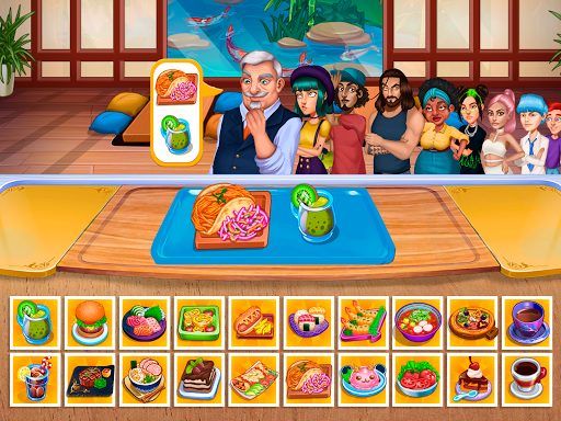 Cooking Fantasy: Be a Chef in a Restaurant Game apkmr screenshots 17