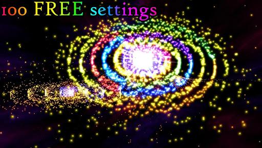 3D Stars Journey - Universe Music Visualizer Apkfinish screenshots 2
