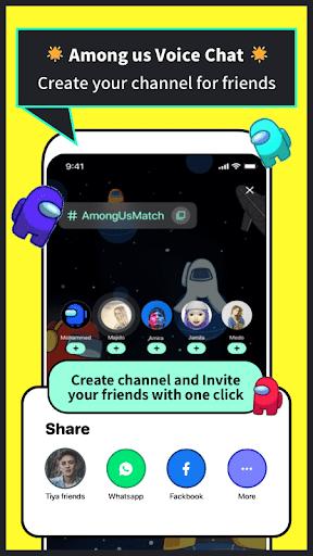 Tiya - Find a friend Among Us  screenshots 2