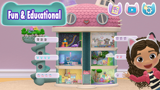 Gabbys Dollhouse: Play with Cats android2mod screenshots 9