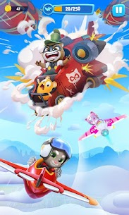 Talking Tom Sky Run: The Fun New Flying Game Hack Cheats (iOS & Android) 1