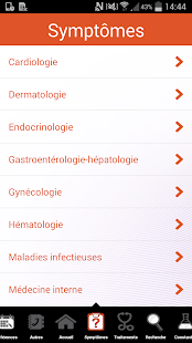 Diagnostics & thérapeutique Screenshot