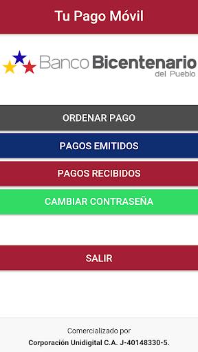 Tu Pago Movil Banco Bicentenario  screenshots 2