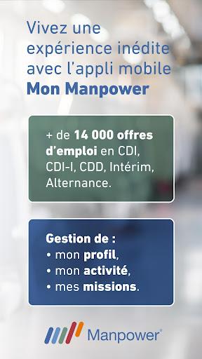 Mon Manpower u2013 Offres du2019emploi  Screenshots 1