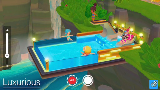 My Little Paradise : Resort Management Game Apkfinish screenshots 4