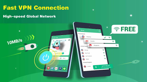 Monster VPN - Free Forever & Security VPN Proxy  screenshots 7
