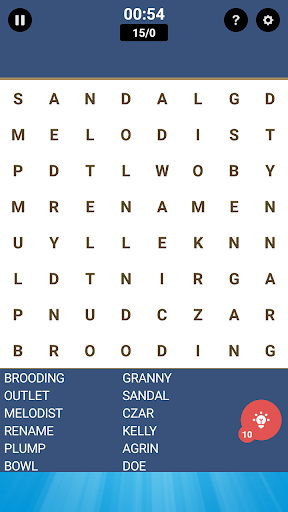 Word Search Free Game 1.5 screenshots 6