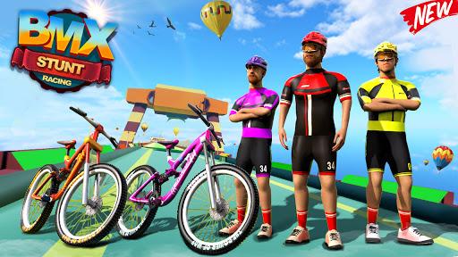 BMX Bicycle Racing Stunts 3D Mega Ramp Cycle Games 2.7 screenshots 4