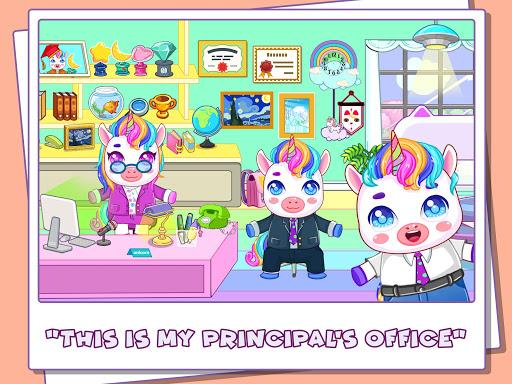 Mini Town: Unicorn School modavailable screenshots 7