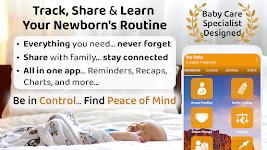 screenshot of ParentLove: Baby Tracker, Breastfeeding & Diaper