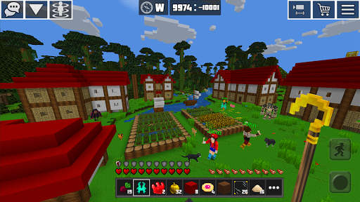 PlanetCraft: Block Craft Games apkpoly screenshots 8